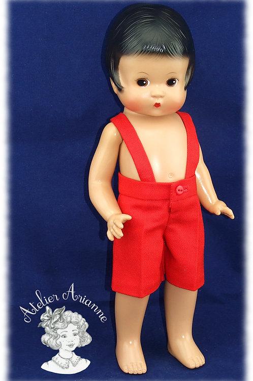 Pantacourt Vincent pour poupées Skippy et Patsy de 33 cm