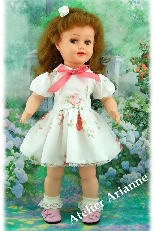 Tenue Ninon pour poupée Raynal, Gotz, Journey Girl, Kids, Zwargnase 46-50