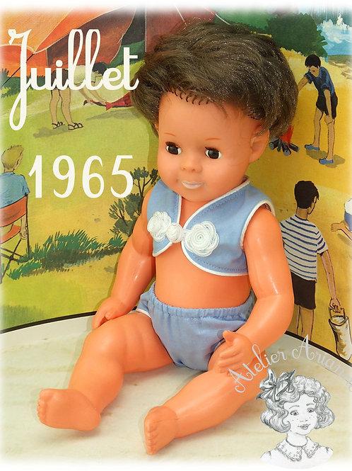 Juillet 1965 Tenue pour poupée Michel Modes et Travaux