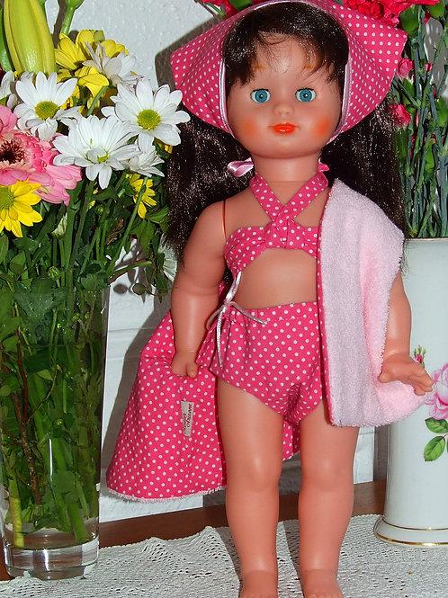 Tenue pour poupée Emilie Modes et Travaux Juillet 1951