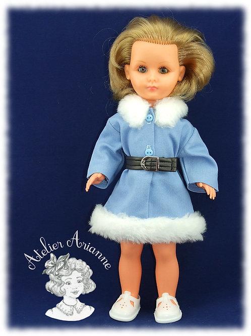 Reproduction de la tenue d'origine pour poupée Bella