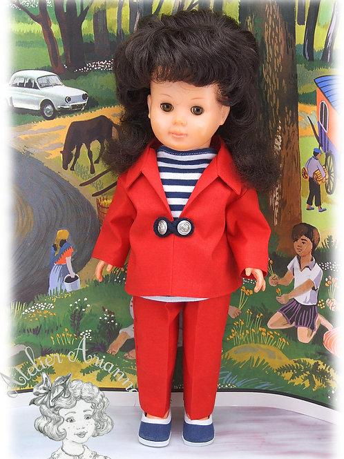 Juin 1966 -Tenue pour poupée Marie-Françoise Modes et Travaux