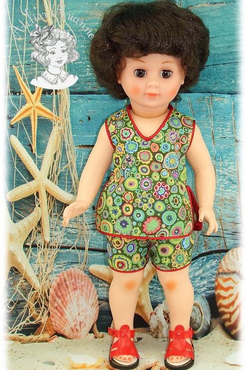 Juillet 1964 Tenue pour poupée Modes et Travaux Françoise, Marie-Françoise