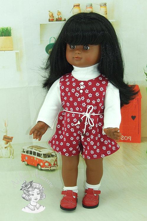 Tenue Marta avec boutons pour poupées de 40 cm