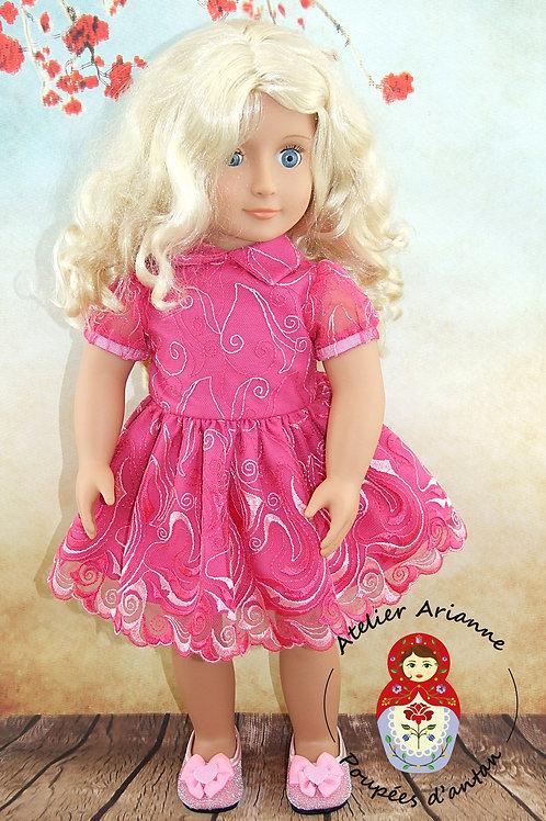 Lyana tenue pour poupée Sophie de  Clodrey 44cm