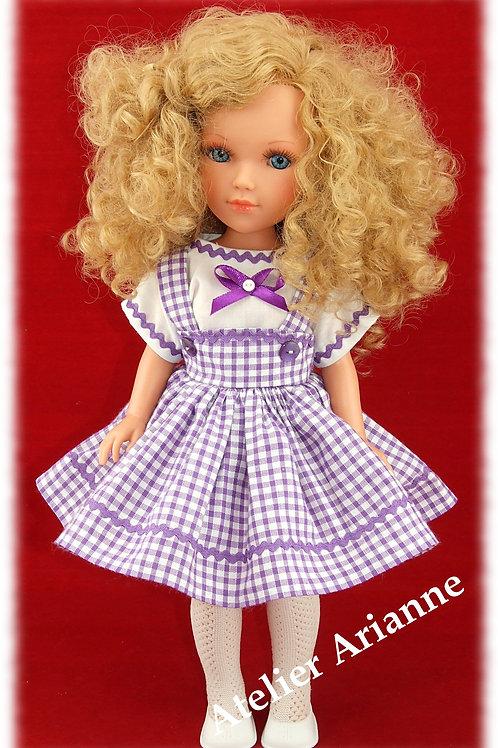 Tenue Zoé pour poupées: Vidal, Nancy, Berbesa 40 cm