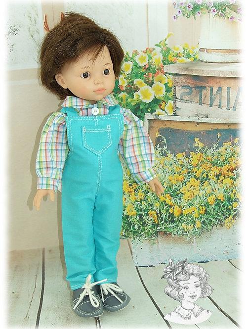 Charlie - Tenue pour poupée garçon Las Amigas de Paola Reina - 33 cm