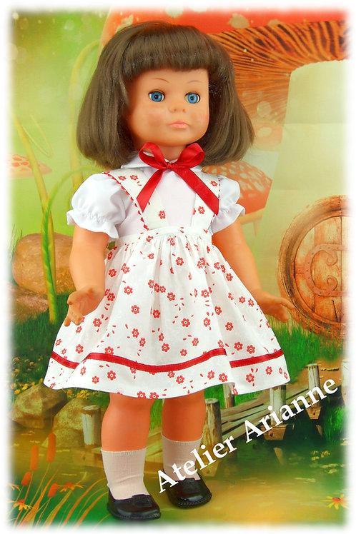 Tenue Anne-Marie pour poupée Marie-Claire de Petitcollin