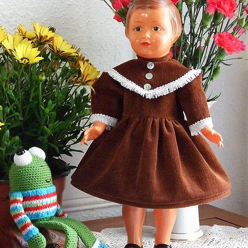 Tenue pour poupée Marie- Françoise Modes et Travaux Décembre 1954
