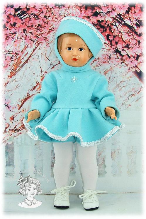 Tenue novembre 1957 pour poupée Françoise de Modes et Travaux