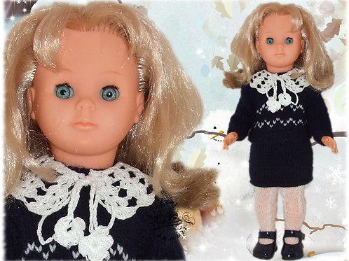 Tenue pour poupée Françoise Modes et Travaux