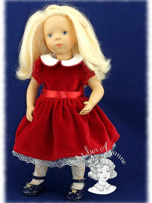 Tenue pour poupée Minouche Décembre 1951