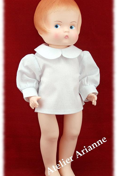 Chemise pour poupée 34-35 cm
