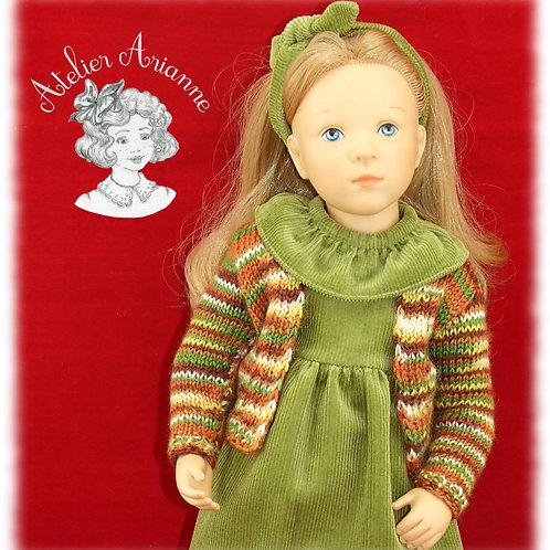 Alicia pull -Tenue pour poupée Finouche de Petitcollin