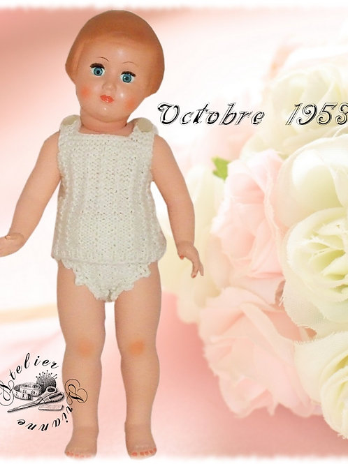 Tenue Françoise Octobre 1953
