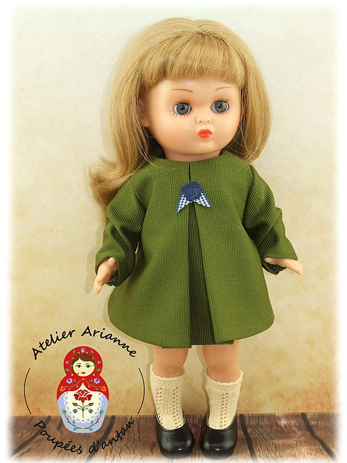 GIULIA - robe - tenue pour poupée rousse Bombon