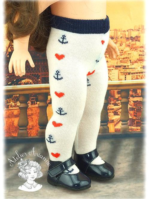 Nr 7 Collant en jersey pour poupées de Modes et Travaux , Kattie de Raynal