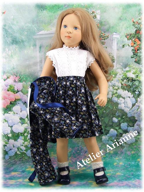 Tenue Elisa pour poupée Finouche de Petitcollin