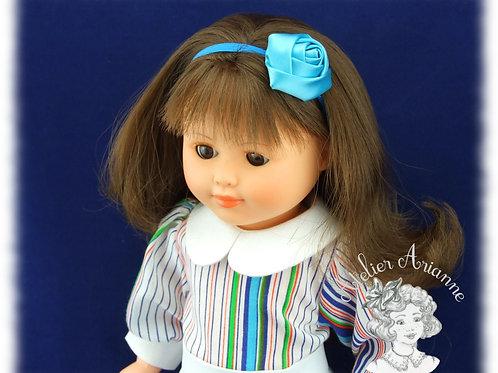 Nr 1 Chemise à manches bouffantes pour poupées de Modes et Travaux