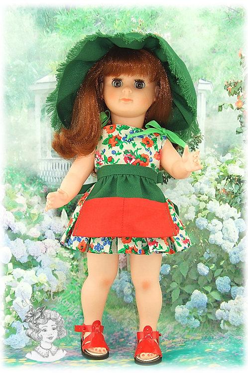 Tenue pour poupée Marie-Françoise de Modes et Travaux - Mai 1963