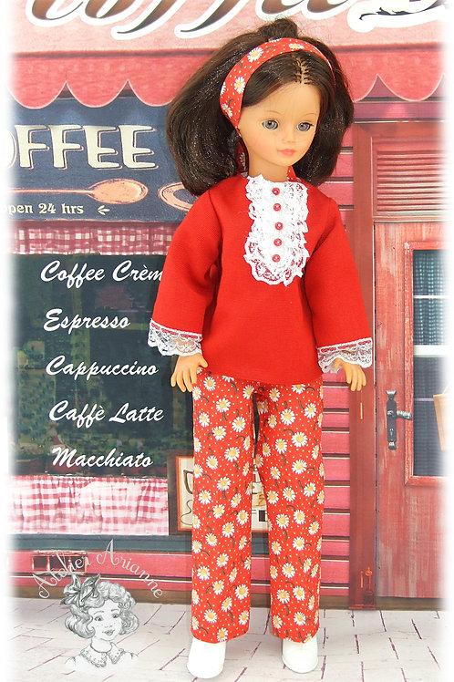Yasmine-tenue pour poupée Cathie de Bella