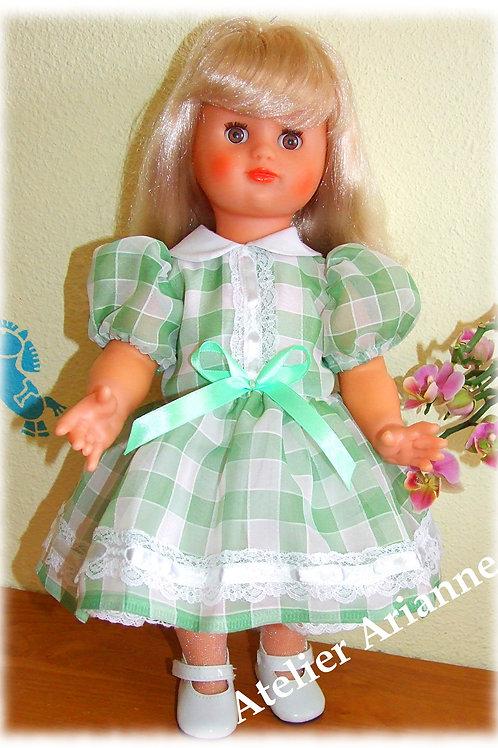 Tenue Lilianne pour poupée Paola Reina 42 cm ou Emilie Modes et Travaux