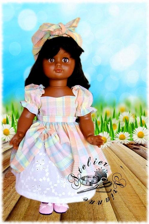 Tenue pour poupée Emilie Modes et Travaux Juin 2003