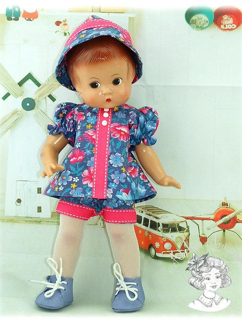 Tenue Ranya pour poupées : Minouche, Paola , Corolle, Patsy, Bombon 30-33 cm
