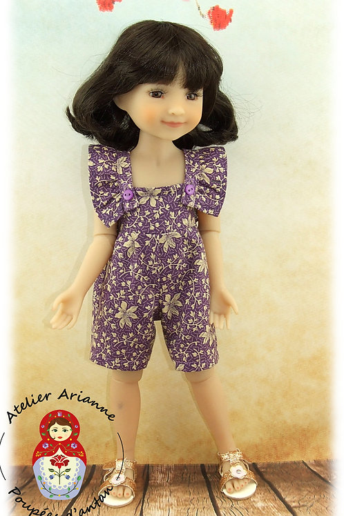 Jola - Tenue pour poupée Ruby Red