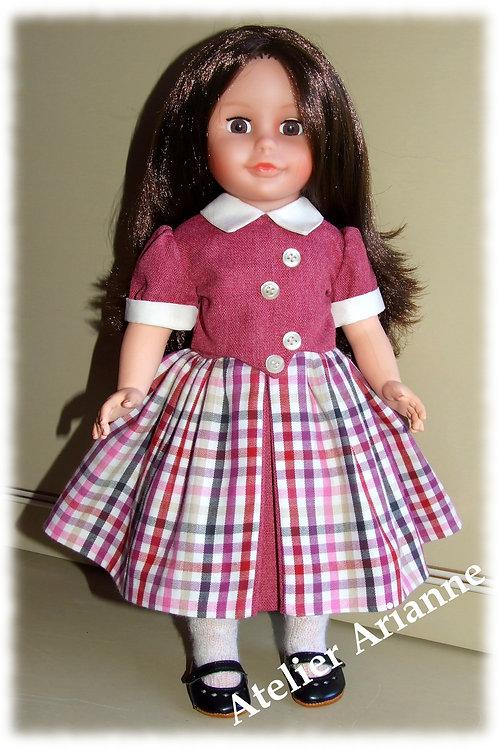 Tenue Evelina pour poupées Modes et Travaux, Marie-Françoise