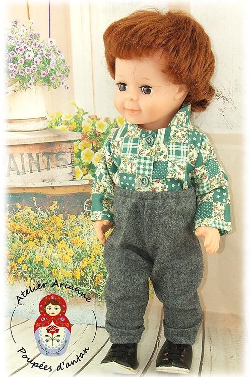 Pantalon pour poupées Emilie ou Jean-Michel de Modes et Travaux