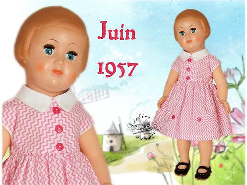 Tenue Françoise Juin 1957