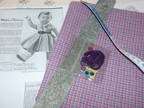 Kit 83 couture Modes et Travaux Françoise Avril 1952