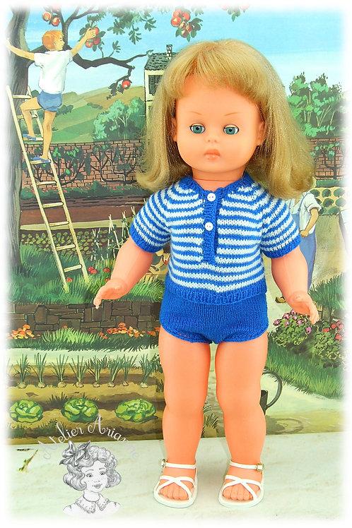 Andrea - tenue pour poupée GéGé 56 cm