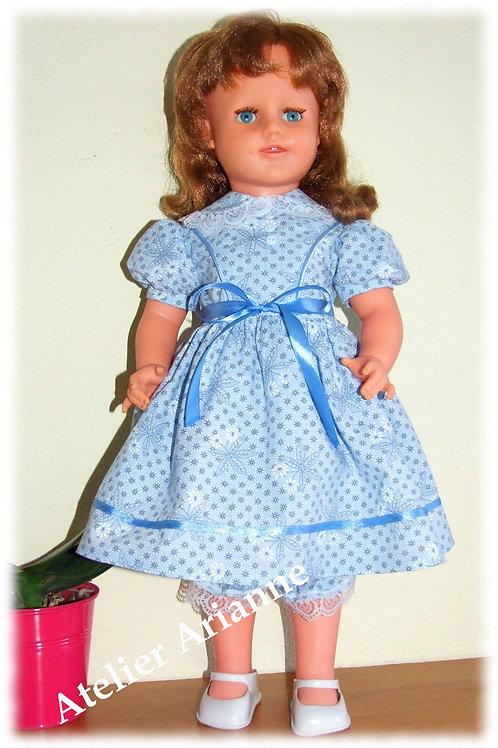 Tenue Ambre pour poupée GéGé, Raynal, Bella et autres de 53-56 cm