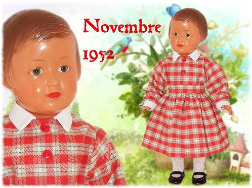 Tenue Françoise Novembre 1952