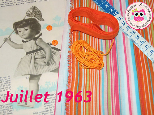 Kit 42 couture Modes et Travaux Françoise,  Juillet 1963