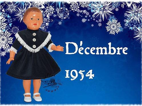 Tenue M&T pour Françoise Décembre 1954