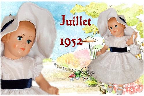 Tenue Françoise Juillet 1952