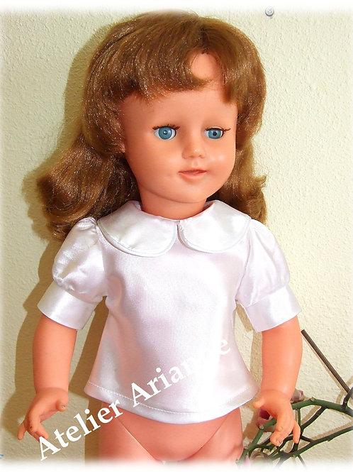 Chemise pour poupée 55-57 cm