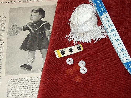 Kit 100 couture Modes et Travaux Françoise,  Décembre 1954