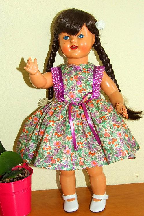 Tenue Violette pour poupée Gotz, Petit Fille 46 cm, Gotz, Journey, Raynal