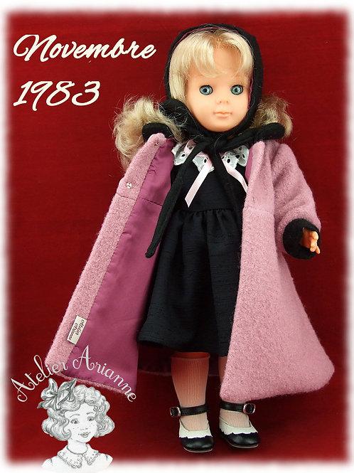 Novembre 1983 Tenue pour poupée Marie Françoise Modes et Travaux