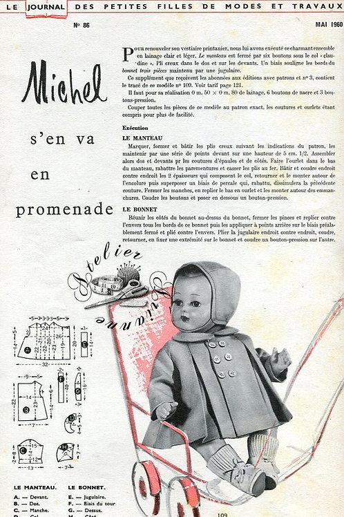 Page Modes et Travaux Mai 1960 avec mini patron