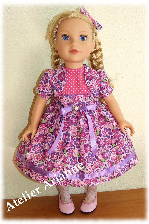 Tenue Tova pour poupée Raynal, Gotz, Journey Girl, Kids, Zwergnase 46-50 cm