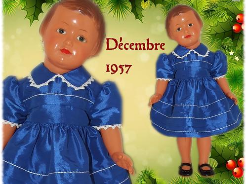Tenue M&T pour Françoise Décembre 1957