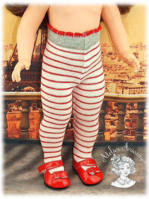 Nr 18 Collant en jersey pour poupées Modes et Travaux , Kattie de Raynal