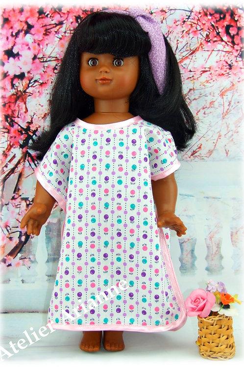 Tenue Boubou pour poupée Emilie Modes et Travaux