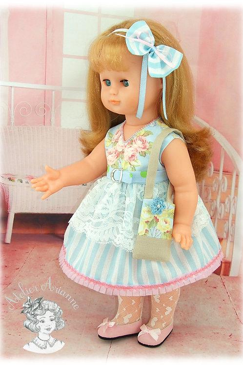 """Pièce unique - tenue Caroline de la série """"Les fillettes modèles"""""""