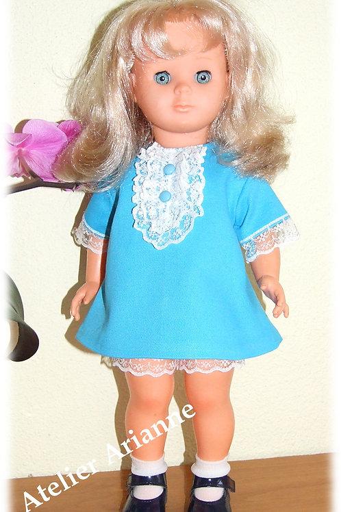 Tenue pour poupée Marie-Françoise Modes et Travaux octobre 1968
